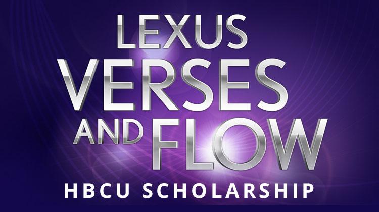 Lexus Verses and Flow Scholarship