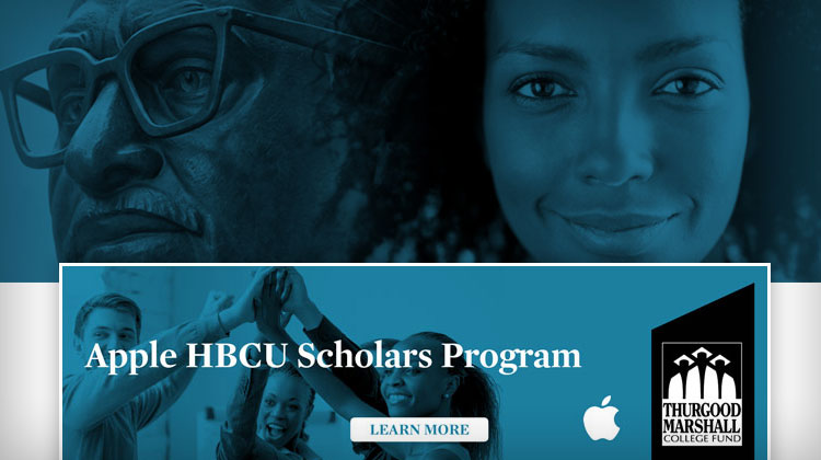 The Apple HBCU Scholars Program is the first of several programs under the new Apple and TMCF Diversity Initiative.