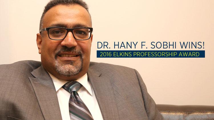 Dr. Hany F. Sobhi, associate professor of organic chemistry at Coppin State University.