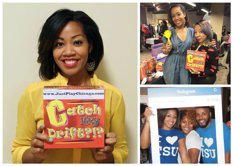 Tennessee State University Alumna Leia Avery is the creator of popular card game Catch My Drift?!?