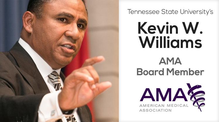 TSU Alumnus Kevin Williams Elected to AMA Board