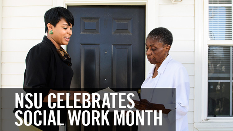 NSU Celebrates Social Work Month