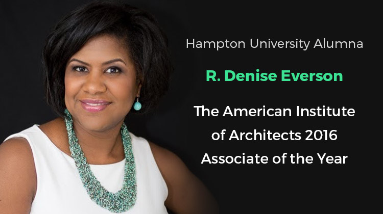 Hampton Alumna Named American Institute of Architects Associate of the Year