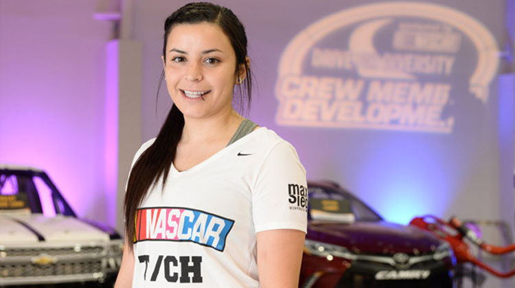 Alcorn State Alumna Breanna O'Leary joins NASCAR Pit Crew Program