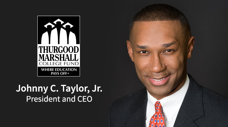 TMCF President and CEO Johnny C. Taylor, Jr. Partners with Apple