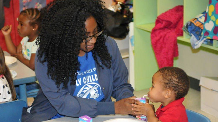 Campus Kitchen at Fayetteville State University's Early Childhood Learning Center (ECLC).