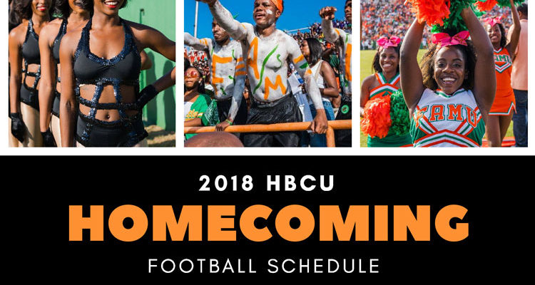 Dancing girls, fans, and cheerleaders take part in the homecoming tradition at Florida A&M University.