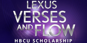 Apply for the Lexus Verses and Flow HBCU Scholarship