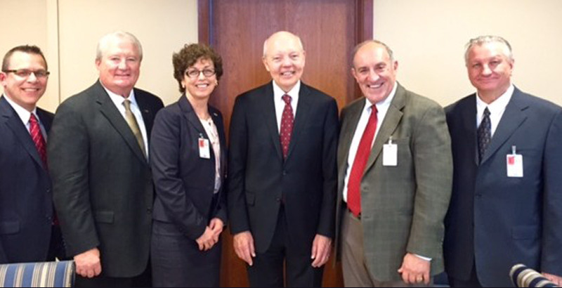 NSA leaders with IRS Commissioner Koskinen