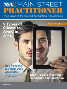 Main Street Practitioner January February 2016