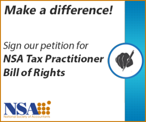 Tax Practitioner Bill of Rights banner