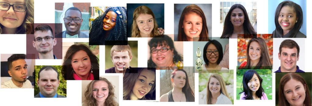 scholarship winners collage