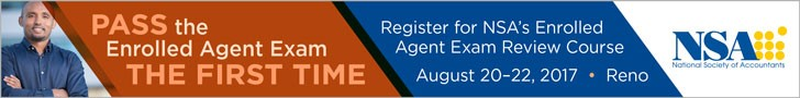 Summer 2017 Enrolled Agent Exam banner