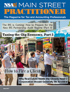 Main Street Practitioner cover