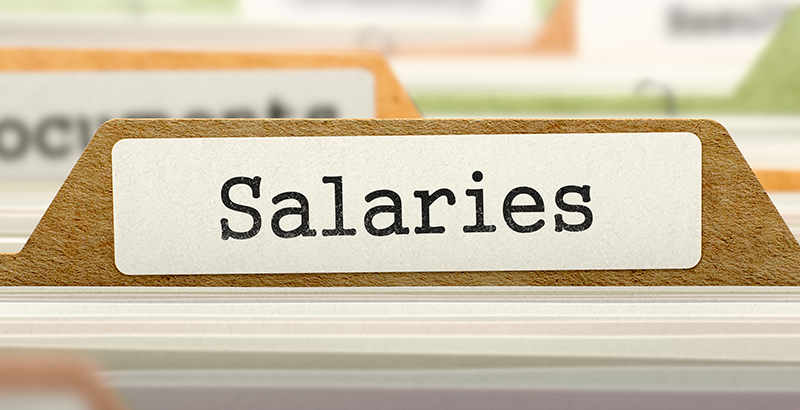 salaries folder