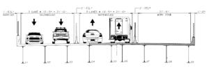 US 1 WAV construction stage 5 graphic