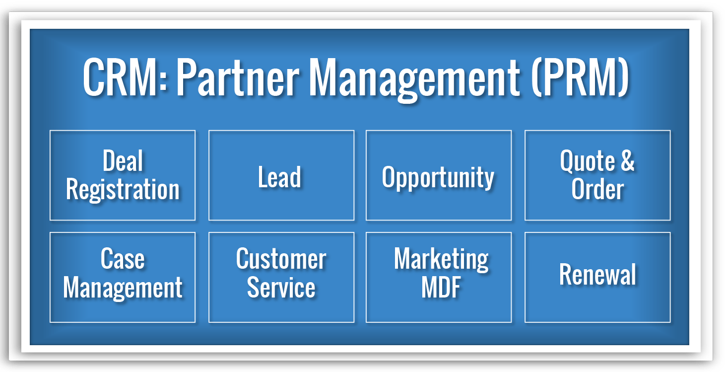 CRM - Partner Relationship Management Monetization Ecosystem domain