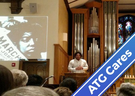 ATG Cares: ATG Analyst Emcees 2017 Martin Luther King Day Community Celebration