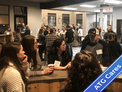 ATG Cares: atgSHE Co-hosts Diversity and Inclusion Speed Networking Event