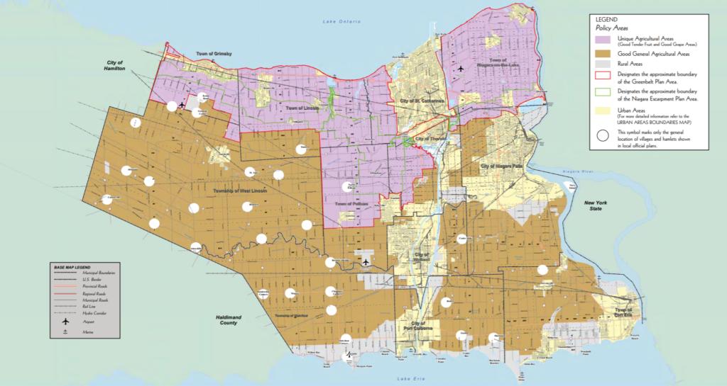 Niagara Region Countryside & Rural Areas