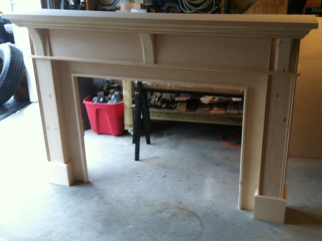 Custom Mantel, Full Surround Mantel