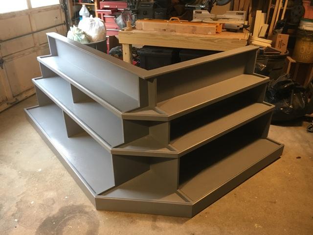 Shelves finished