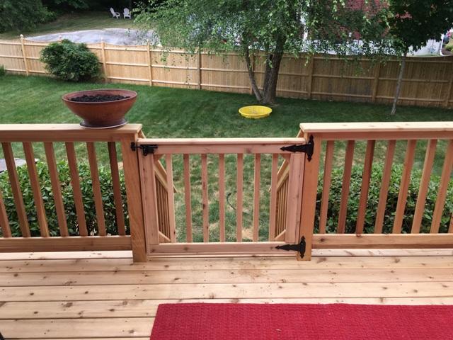 cedar deck & gate handyman services