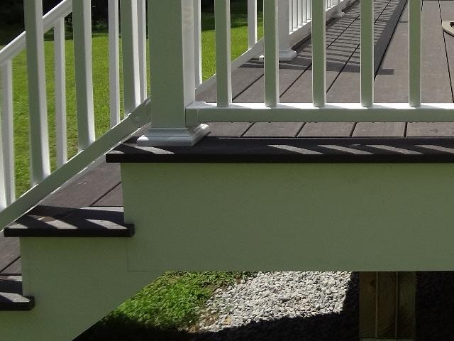 deck trim & stair returns