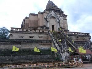 Wat Chedi Luang, Chiang Mai, Thailand.