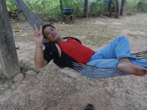 Sukhothai chilling, Thailand.
