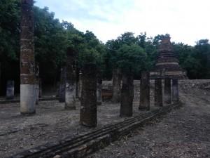 Wat Hip Bon, Sukhothai, Thailand.