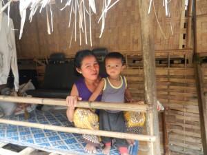 Ancient Thai lifestyles in Laos.