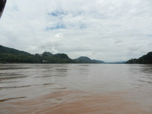 The Mekong from Luang Prabang, Laos.