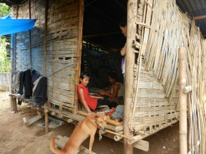 Family life in the mountains of Laos