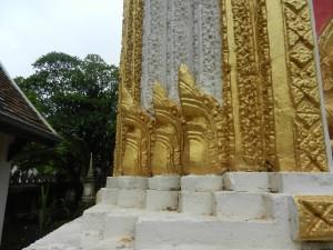 A shrine in Vientiane, Laos