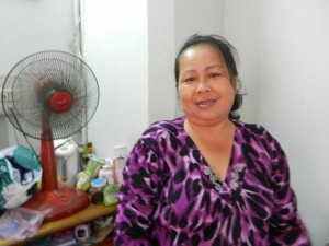 A warm-hearted local in Vientiane, Laos.