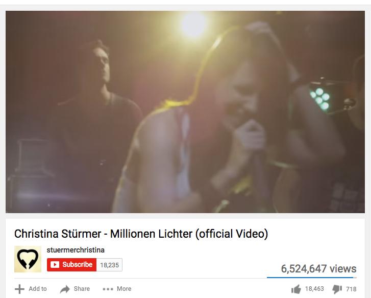 Christina Sturmer - Millionen Lichter