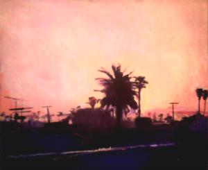 Peach Sunrise, California