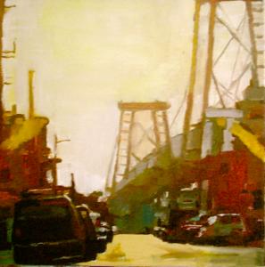 Williamsburg Bridge, Sunrise, Brooklyn, New York City