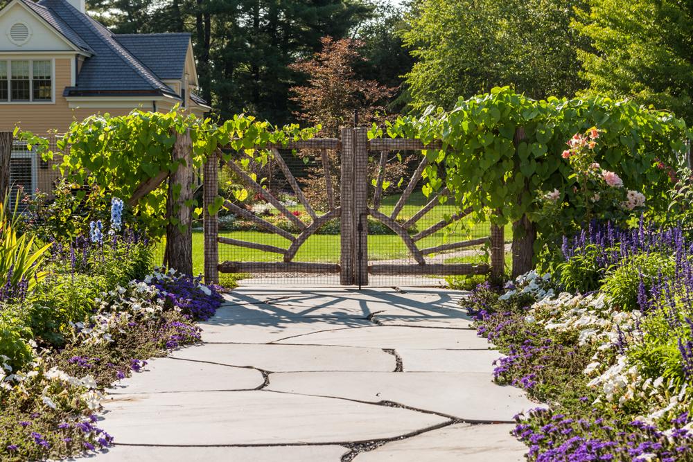 Pool-Gate,-sliced-boulder-walkway
