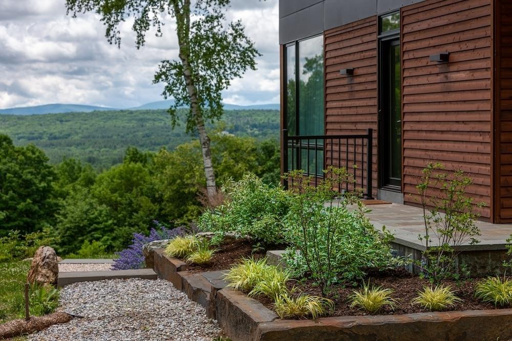 Rebekah Lamphere – Stone curbing, steps, patio