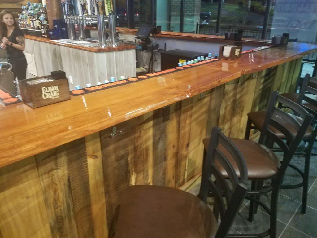 Velocity wings new bar tops
