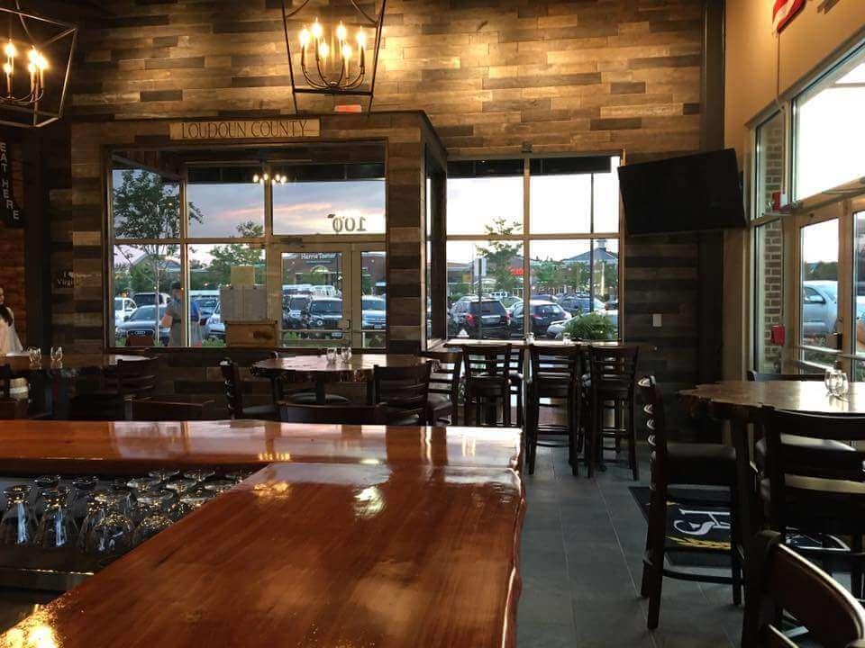 Bar tops and table tops at Social house