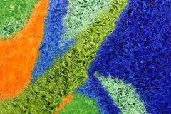 Oil On Canvas - Quasar - The Elements Series - 48x48