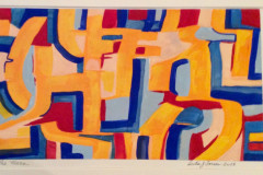 SWoP - The Maze - Gouache Water Color - Private Collection