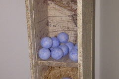 Wall Sculptures - A Nest of Worlds - 3.5x14x3.5