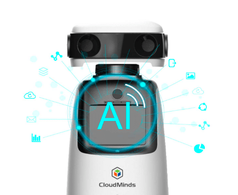 Cloud Patrol Security Robot Powered by Cloud AI