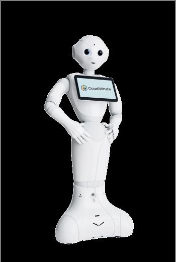 CloudMinds Cloud Pepper Humanoid Robot