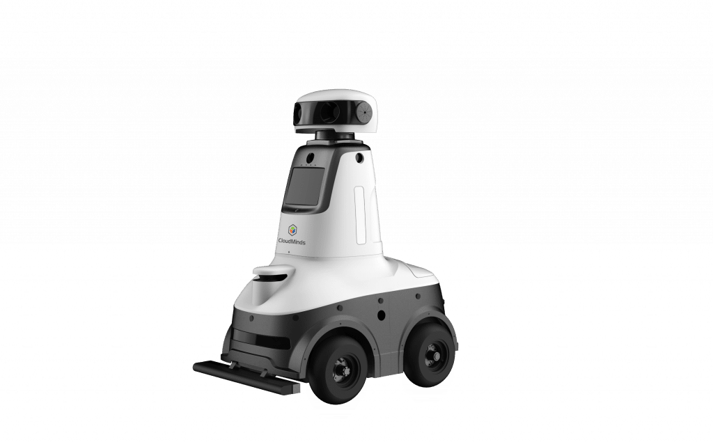 Cloud Patrol Security Robot Powered by Cloud AI