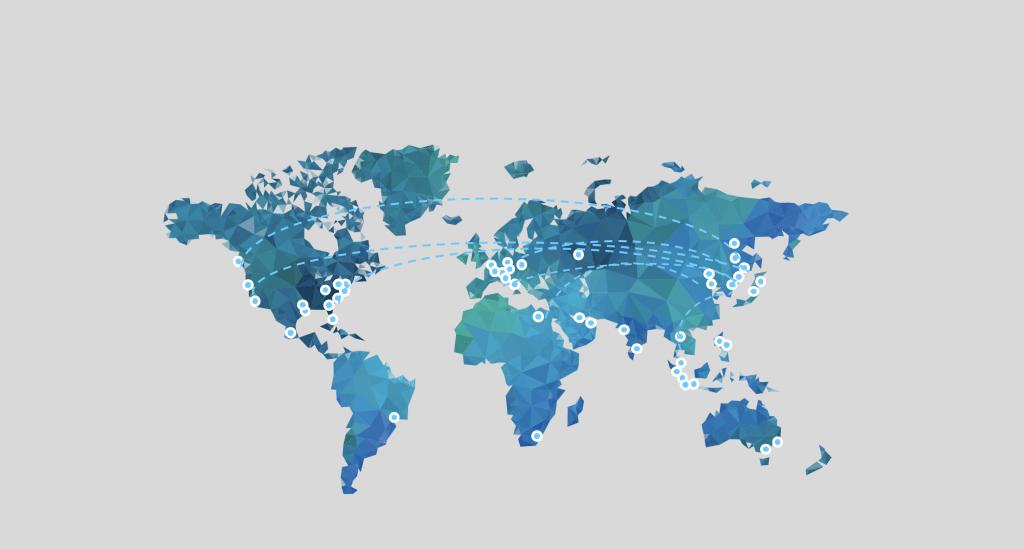 CloudMinds Global Virtual Backbone Network (VBN)